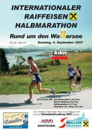 internationaler raiffeisen halbmarathon - Skiclub Seekirchen am ...