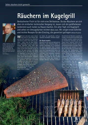 Räuchern im Kugelgrill Während - Grill-Magazin