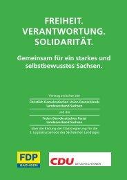 zum Vertrag - Die CDU-Fraktion des Sächsischen Landtages