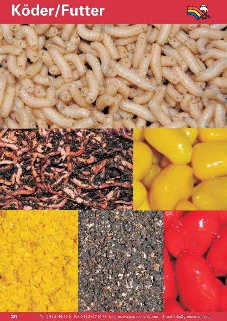 Leber Additives Geruchs Halibut Rotwurm und Geschmackszusatz zum Grundfutter