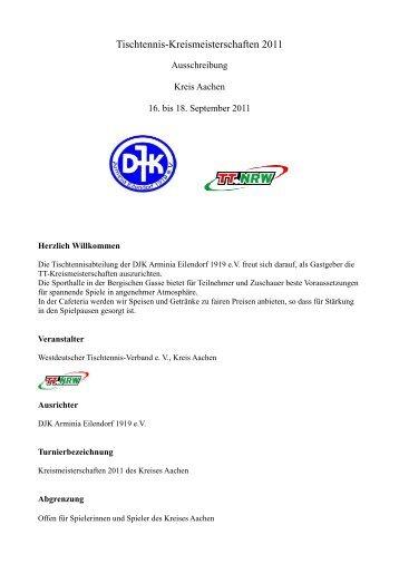Ausschreibung (pdf) - WTTV - Turniere