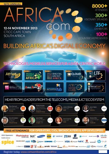 BUILDING AFRICA'S DIGITAL ECONOMY