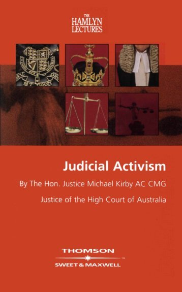 Judicial Activism - College of Social Sciences and International ...