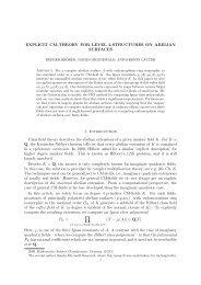 preprint version - ECHIDNA: Elliptic Curves and Higher Dimensional ...
