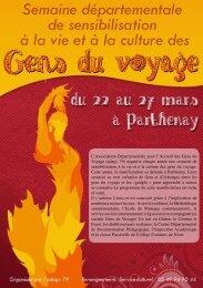 Le programme détaillé - Communauté de communes de Parthenay