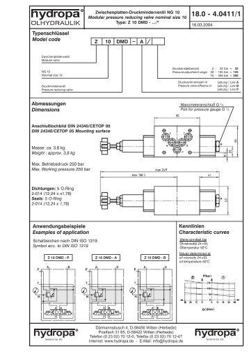 18.0 - 4.0429 - Hydropa GmbH & Cie. KG