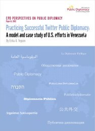 Practicing Successful Twitter Diplomacy - USC Center on Public ...