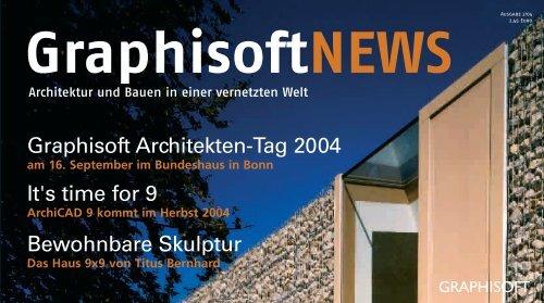 Downloaden - Graphisoft Center München