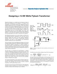 Design Guide for Off-line Fixed Frequency DCM Flyback Converter
