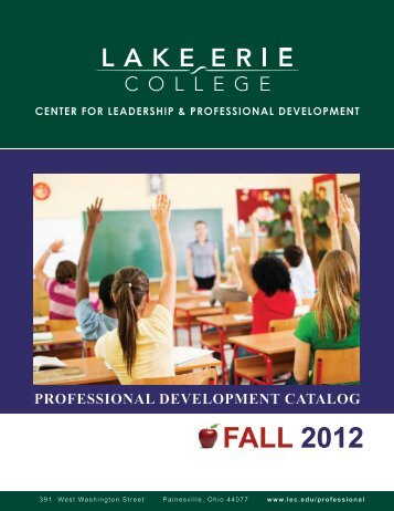 FALL 2012 - Lake Erie College