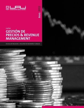 gestión de precios & revenue management - Universidad Adolfo ...