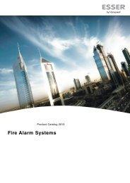 fire alarm system catalog 2013 - ESSER by Honeywell