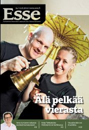 Esse 24/2013 (pdf) - Espoon seurakuntasanomat