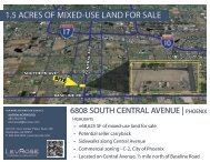1.5 ACRES OF MIXED-USE LAND FOR SALE