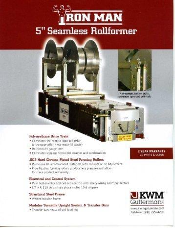 Polyurethane Drive Train 1' _ é'FOH - Seamless Aluminium