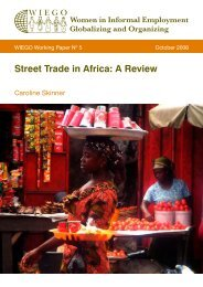Street Trade in Africa: A Review - WIEGO