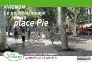 place Pie - Avignon