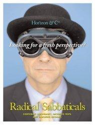 Radical Sabbatical - Horizon & Co.