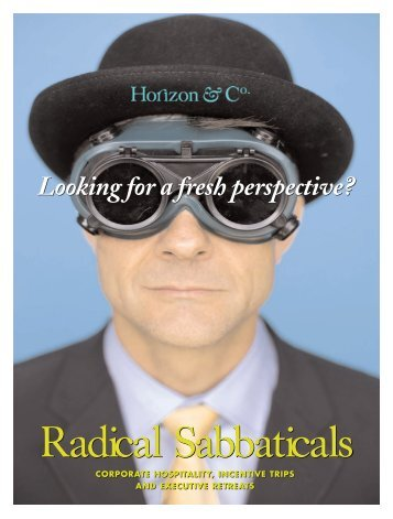 Radical Sabbatical - Horizon & Co.
