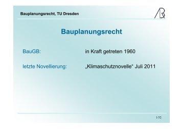 Bauplanungsrecht - Prof-rauch-tu-dresden.de