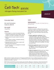Inoculant applicator guide - Novozymes