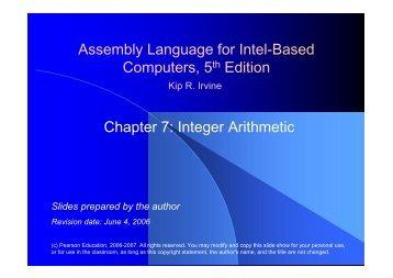 solutions manual assembly language for intel based kip irvine rh yumpu com