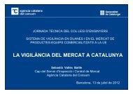 la vigilància del mercat a catalunya - Enginyers Industrials de ...
