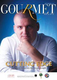 CUTTING EDGE - The Emirates Culinary Guild