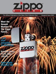 Zippo Click Magazine 01/2002 - First Issue - ZippoCollect