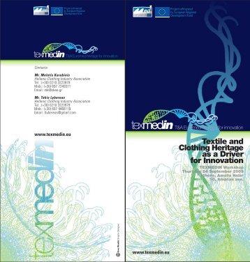 Workshop Agenda - TEXMEDIN
