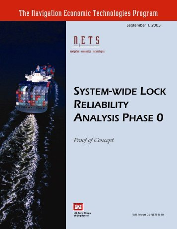 System-Wide Lock Reliability Analysis Phase 0 - Planning ...