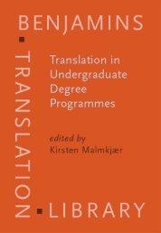 Translation in Undergraduate Degree Programmes - ymerleksi - home