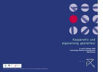 Kooperativ und eigensinnig gestalten! - Städteregion Ruhr 2030