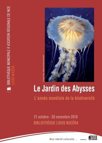 Le Jardin des Abysses - Observatoire Océanologique de ...