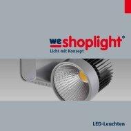 LED-Leuchten - we-shoplight