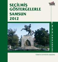 seçilmiş göstergelerle samsun 2011 - Türkiye İstatistik Kurumu