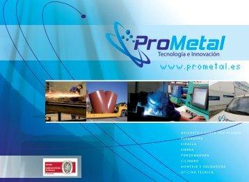 Estructura Productiva de Prometal - Metalia