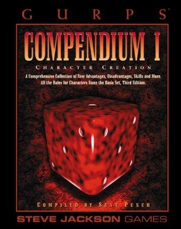 GURPS - Compendium 1..