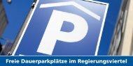 Download des Info-Flyers zu den Dauerparkplätzen im Parkhaus