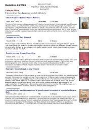 Bollettino 05/2009 - Fondazione per leggere