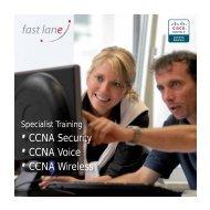·CCNA Security ·CCNA Voice ·CCNA Wireless - Fast Lane