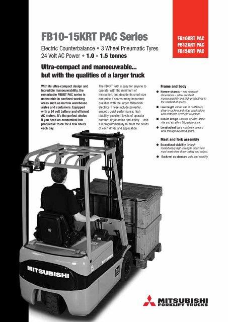 FB10-15KRT PAC Series - Green Material Handling