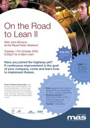 Event flyer On-the-road-to-Lean2.indd - SWMAS