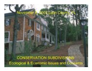 Ecological & Economic Issues and Concerns - River Basin Center at ...