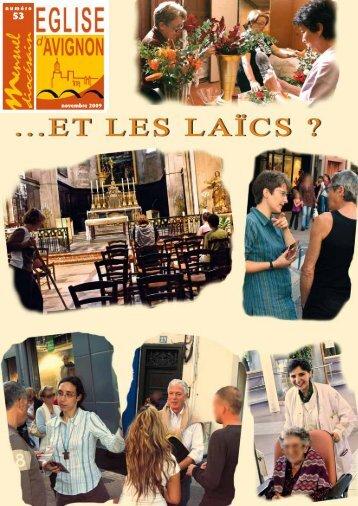 numéro novembre 2009 - Diocèse d'Avignon