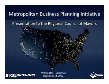 Download the Presentation (PDF) - Minnesota Council on Foundations