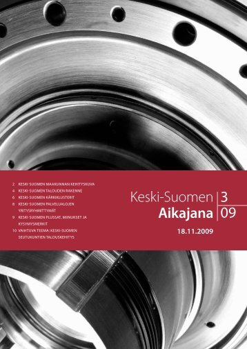 Aikajana 3/2009 - Keski-Suomen liitto