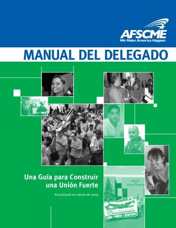 AFSCME Manual del Delegado de Taller