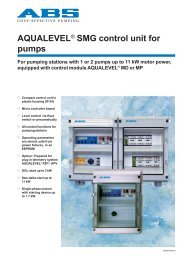 SMG control unit for pumps GB.p65