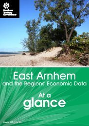 East Arnhem - Department of Regional Development and Women's ...